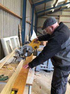 Deelnemer 't Vloedbelt - houtbewerking